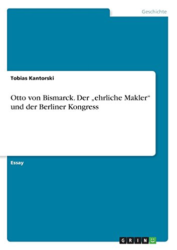 Otto von Bismarck. Der