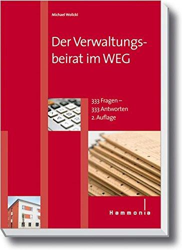 Der Verwaltungsbeirat im WEG (Hammonia bei Haufe)