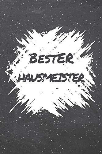 Bester Hausmeister: Hausmeister Punktraster Notizbuch, Notizheft oder Schreibheft | 110  Seiten | Büro Equipment & Zubehör | Lustiges Geschenk zu Weihnachten oder Geburtstag